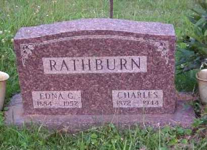 RATHBURN, EDNA G. - Meigs County, Ohio | EDNA G. RATHBURN - Ohio Gravestone Photos
