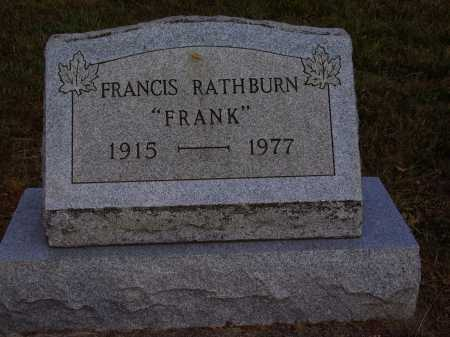"RATHBURN, FRANCIS ""FRANK"" - Meigs County, Ohio 