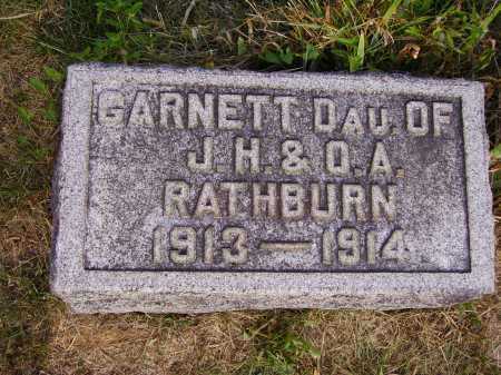 RATHBURN, GARNETT - Meigs County, Ohio | GARNETT RATHBURN - Ohio Gravestone Photos