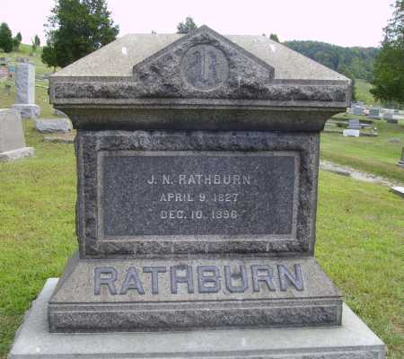 RATHBURN, J. N. - Meigs County, Ohio | J. N. RATHBURN - Ohio Gravestone Photos