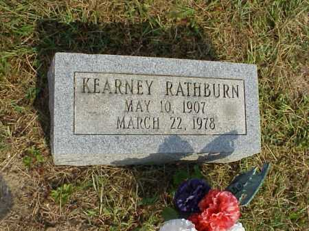 RATHBURN, KEARNEY - Meigs County, Ohio | KEARNEY RATHBURN - Ohio Gravestone Photos