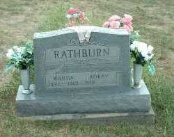 RATHBURN, WANDA - Meigs County, Ohio | WANDA RATHBURN - Ohio Gravestone Photos