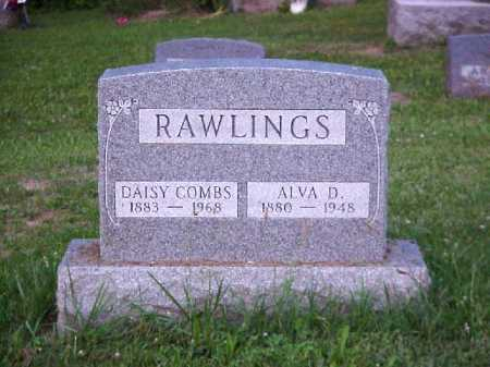 COMBS RAWLINGS, DAISY - Meigs County, Ohio | DAISY COMBS RAWLINGS - Ohio Gravestone Photos