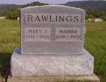 HULL RAWLINGS, MARY J. - Meigs County, Ohio | MARY J. HULL RAWLINGS - Ohio Gravestone Photos