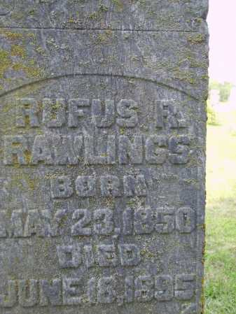 RAWLINGS, RUFUS R.- CLOSEVIEW - Meigs County, Ohio | RUFUS R.- CLOSEVIEW RAWLINGS - Ohio Gravestone Photos