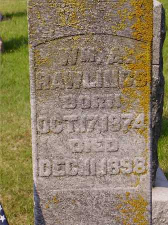 RAWLINGS, WILLIAM A. - CLOSEVIEW - Meigs County, Ohio | WILLIAM A. - CLOSEVIEW RAWLINGS - Ohio Gravestone Photos