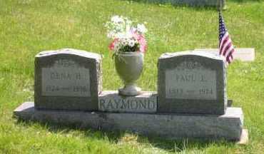 RAYMOND, DENA PURLE - Meigs County, Ohio | DENA PURLE RAYMOND - Ohio Gravestone Photos