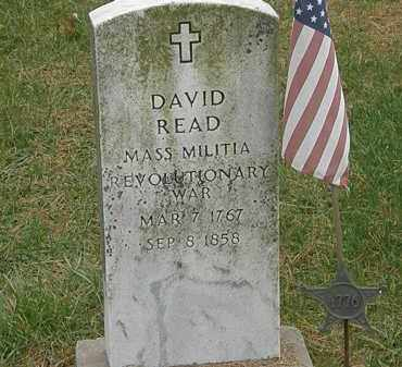 READ, DAVID - Meigs County, Ohio | DAVID READ - Ohio Gravestone Photos