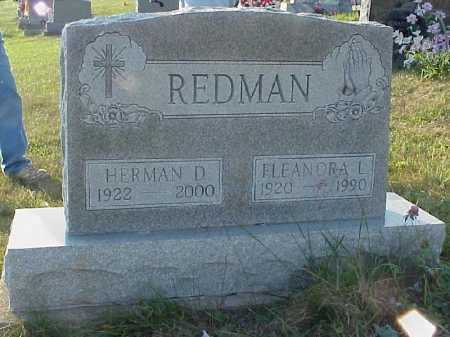 REDMAN, HERMAN D. - Meigs County, Ohio | HERMAN D. REDMAN - Ohio Gravestone Photos