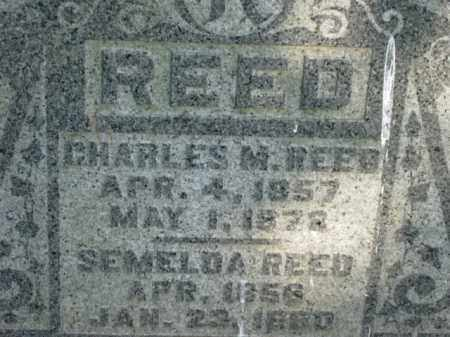 REED, CHARLES M - Meigs County, Ohio | CHARLES M REED - Ohio Gravestone Photos