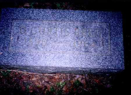 REED, D. CURTIS - Meigs County, Ohio | D. CURTIS REED - Ohio Gravestone Photos