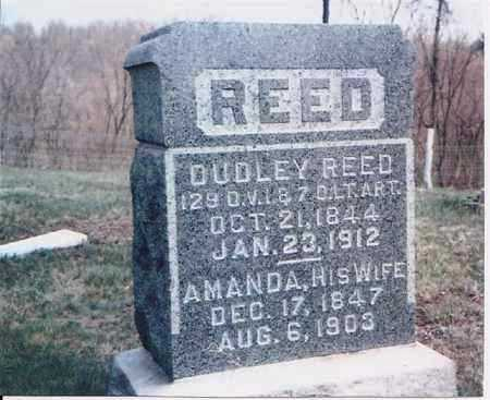 REED, DUDLEY - Meigs County, Ohio | DUDLEY REED - Ohio Gravestone Photos