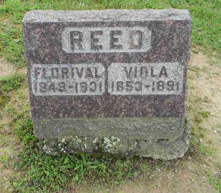 PARKER REED, VIOLA - Meigs County, Ohio | VIOLA PARKER REED - Ohio Gravestone Photos
