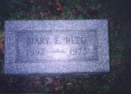 REED, MARY E. - Meigs County, Ohio | MARY E. REED - Ohio Gravestone Photos