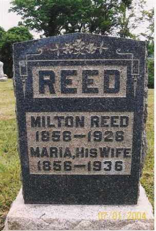 OSBORN REED, MARIA - Meigs County, Ohio | MARIA OSBORN REED - Ohio Gravestone Photos
