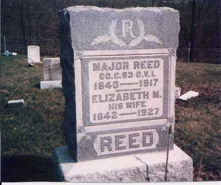 REED, ELIZABETH - Meigs County, Ohio | ELIZABETH REED - Ohio Gravestone Photos