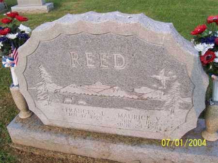 REED, MAURICE - Meigs County, Ohio | MAURICE REED - Ohio Gravestone Photos