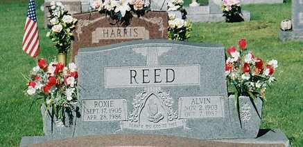 REED, ROXIE - Meigs County, Ohio | ROXIE REED - Ohio Gravestone Photos