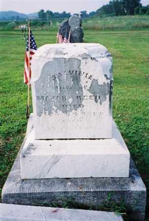 REED, SALVINIA - Meigs County, Ohio   SALVINIA REED - Ohio Gravestone Photos