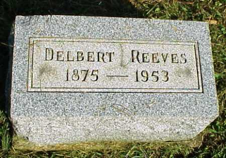 REEVES, DELBERT - Meigs County, Ohio | DELBERT REEVES - Ohio Gravestone Photos