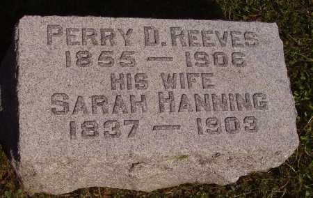 REEVES, SARAH - Meigs County, Ohio | SARAH REEVES - Ohio Gravestone Photos
