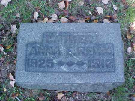 REHM, ANNA E. - Meigs County, Ohio | ANNA E. REHM - Ohio Gravestone Photos