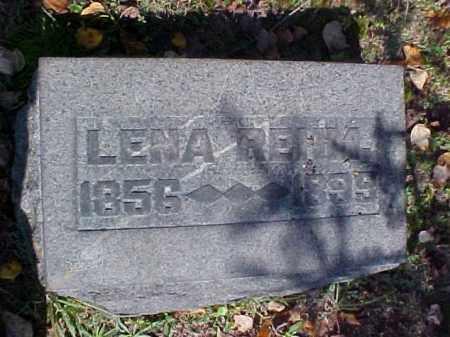 REHM, LENA - Meigs County, Ohio | LENA REHM - Ohio Gravestone Photos