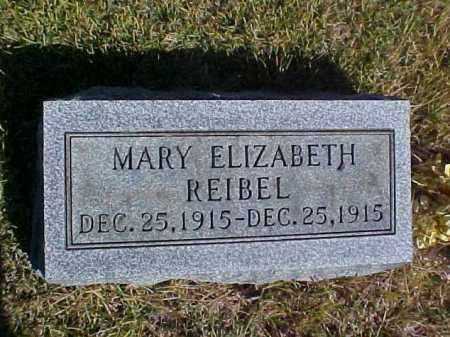 REIBEL, MARY ELIZABETH - Meigs County, Ohio | MARY ELIZABETH REIBEL - Ohio Gravestone Photos