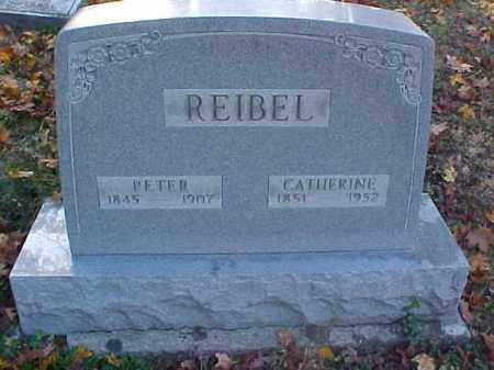REIBEL, CATHERINE - Meigs County, Ohio | CATHERINE REIBEL - Ohio Gravestone Photos