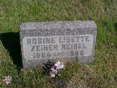 REIBEL, ROSINE LISETTE - Meigs County, Ohio | ROSINE LISETTE REIBEL - Ohio Gravestone Photos