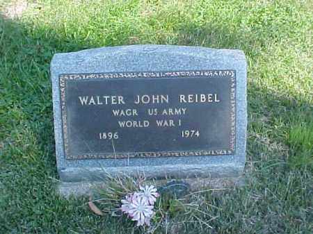 REIBEL, WALTER JOHN - Meigs County, Ohio | WALTER JOHN REIBEL - Ohio Gravestone Photos