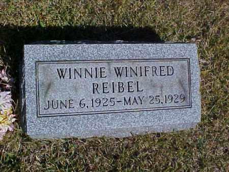 REIBEL, WINNIE WINIFRED - Meigs County, Ohio | WINNIE WINIFRED REIBEL - Ohio Gravestone Photos