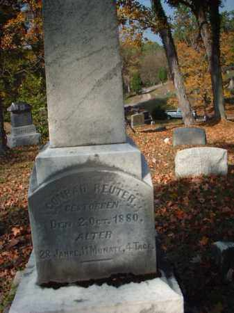REUTER, CONRAD - Meigs County, Ohio | CONRAD REUTER - Ohio Gravestone Photos