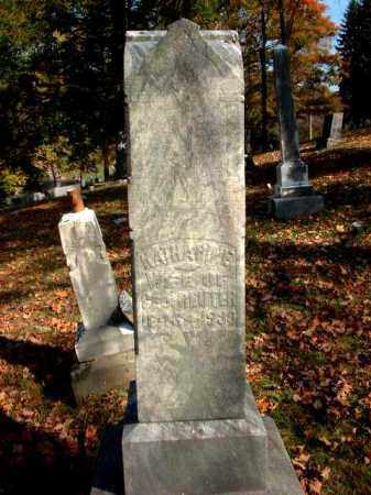 REUTER, KATHARINE - Meigs County, Ohio | KATHARINE REUTER - Ohio Gravestone Photos