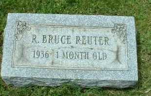 REUTER, R. BRUCE - Meigs County, Ohio | R. BRUCE REUTER - Ohio Gravestone Photos