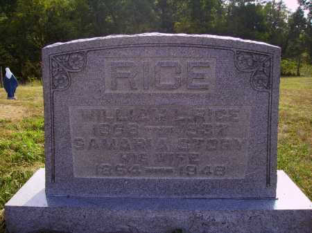 RICE, SAMARIA - Meigs County, Ohio | SAMARIA RICE - Ohio Gravestone Photos