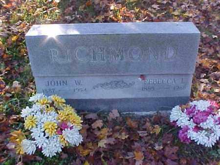 RICHMOND, REBECCA L. - Meigs County, Ohio | REBECCA L. RICHMOND - Ohio Gravestone Photos