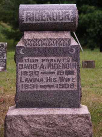 RIDENOUR, DAVID - Meigs County, Ohio | DAVID RIDENOUR - Ohio Gravestone Photos