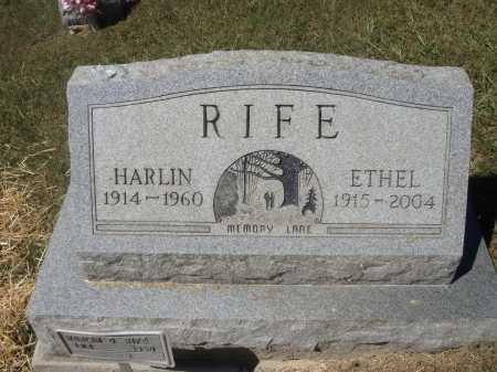 RIFE, ETHEL - Meigs County, Ohio | ETHEL RIFE - Ohio Gravestone Photos