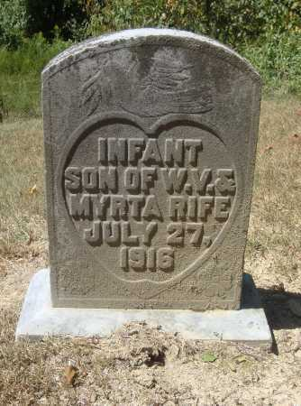 RIFE, INFANT SON - Meigs County, Ohio | INFANT SON RIFE - Ohio Gravestone Photos
