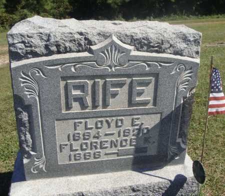 RIFE, FLOYD E. - Meigs County, Ohio | FLOYD E. RIFE - Ohio Gravestone Photos