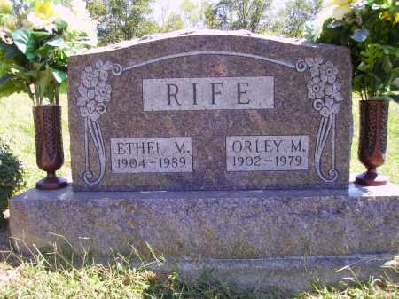 RIFE, ETHEL MARIE - Meigs County, Ohio | ETHEL MARIE RIFE - Ohio Gravestone Photos