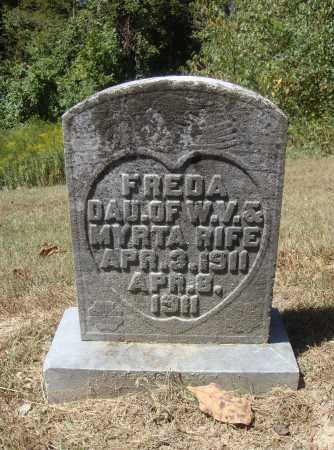 RIFE, FREDA - Meigs County, Ohio | FREDA RIFE - Ohio Gravestone Photos