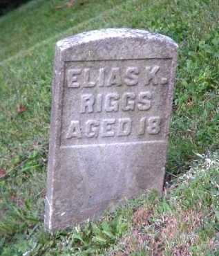 RIGGS, ELIAS K. - Meigs County, Ohio | ELIAS K. RIGGS - Ohio Gravestone Photos