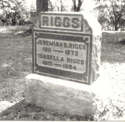 GILLESPI RIGGS, ISABELLA - Meigs County, Ohio | ISABELLA GILLESPI RIGGS - Ohio Gravestone Photos