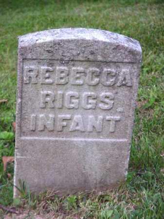 RIGGS, REBECCA - Meigs County, Ohio   REBECCA RIGGS - Ohio Gravestone Photos