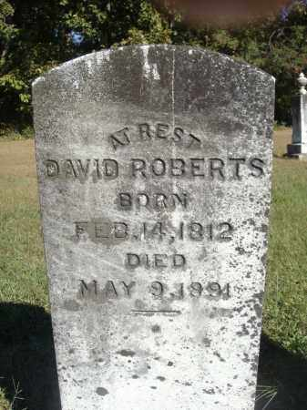 ROBERTS, DAVID - OVERALL VIEW - Meigs County, Ohio | DAVID - OVERALL VIEW ROBERTS - Ohio Gravestone Photos