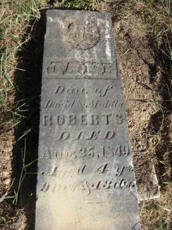 ROBERTS, JANE - Meigs County, Ohio | JANE ROBERTS - Ohio Gravestone Photos