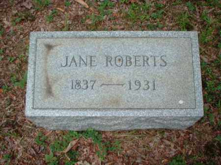 ROBERTS, JANE - Meigs County, Ohio | JANE ROBERTS - Ohio Gravestone Photos
