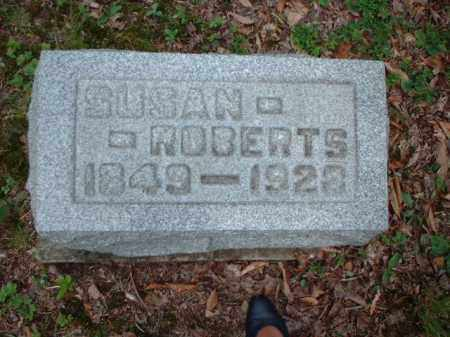ROBERTS, SUSAN - Meigs County, Ohio | SUSAN ROBERTS - Ohio Gravestone Photos